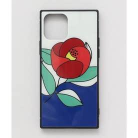 【カヤ】iPhone12 ガラス製スマホケース 和モダン柄スマホくるみ その他3