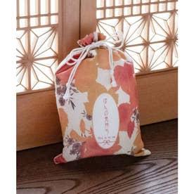 【カヤ】秋の巾着 中 オレンジ系その他