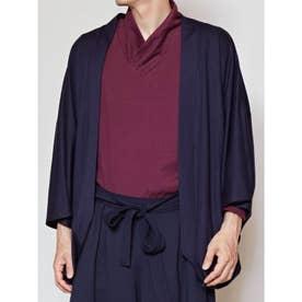 【カヤ】ーKETAKASHIー 気高しメンズ羽織り ネイビー