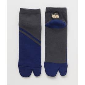 【カヤ】厚手足袋型くつ下25-28cm 短丈 いなせ その他2