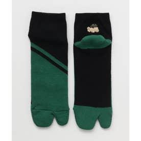【カヤ】厚手足袋型くつ下25-28cm 短丈 いなせ その他3