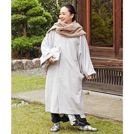 【カヤ】鳶メンズコート ホワイト