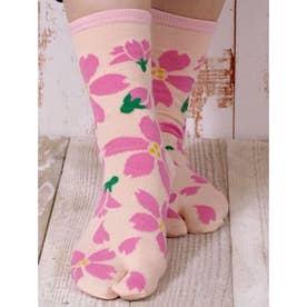 【カヤ】舞桜 足袋型くつ下 23~25cm その他10