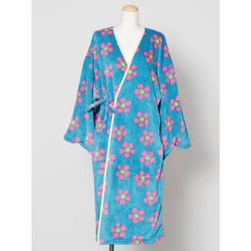 【カヤ】小春日和 羽織り ブルー