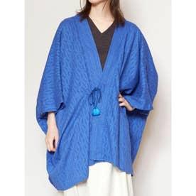 【カヤ】七宝繋ぎ羽織り ブルー