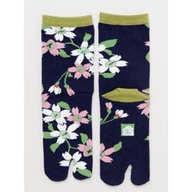 【カヤ】足袋型くつ下23~25cm 茎桜 その他