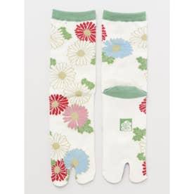 【カヤ】足袋型くつ下23~25cm 菊あつめ マルチ