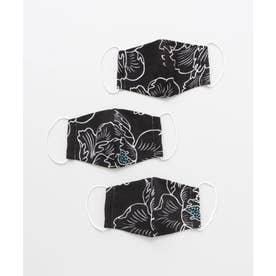 【カヤ】守衣 ーMAMORI KOROMOー 高島ちぢみマスク 大人用 ブラック【返品不可商品】