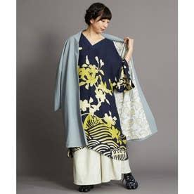 【カヤ】ーMONOKOMO HAORIー ものころ羽織り ライトブルー