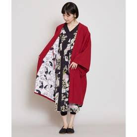 【カヤ】-MONOKOMO HAORI- ものころ羽織り レッド