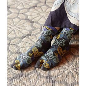 【カヤ】足袋型くつ下23-25cm りんどう マルチ