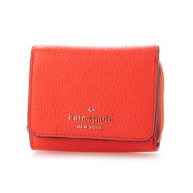 leila sm trifold wallet (レッド)