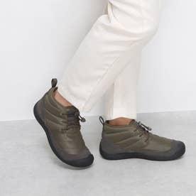 KEEN/ハウザー  チャッカ ブーツ キャンプ アウトドア 撥水 1023816 オリーブ