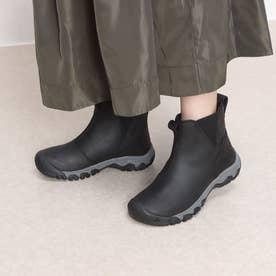 KEEN/グレタ チェルシー ウォータープルーフ ブーツ 1025526 (ブラック×グレー)