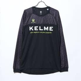 メンズ サッカー/フットサル 長袖シャツ ロングプラクティスシャツ KC20F153