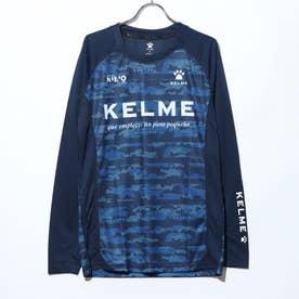 メンズ サッカー/フットサル 長袖シャツ ロングプラクティスシャツ KA20F653