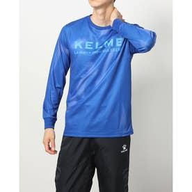 メンズ サッカー/フットサル 長袖シャツ ロングプラクティスシャ_KA21F681 KA21F681 (ブルー)
