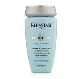 シャンプー 250ml Specifique Bain Riche Dermo-Calm Cleansing Soothing Shampoo (敏感な頭皮や乾燥した髪用)