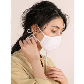 オリジナルレースマスク【返品不可商品】 (ホワイト)