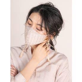 オリジナルレースマスク【返品不可商品】 (ベージュ)