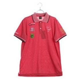 メンズ ゴルフ 半袖シャツ ゆったりサイズ有り KM-1H1008P