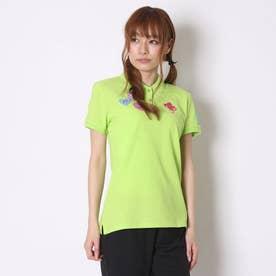 ゴルフシャツ  KM-1H416P グリーン (グリーン)