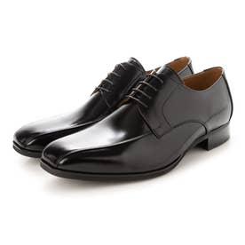 ビジネスシューズ メンズドレスシューズ 外羽根スワローモカ 紳士靴 革靴 牛革 日本製 幅広 4E 大きいサイズ No.K7000 (ブラック) (ブラック)
