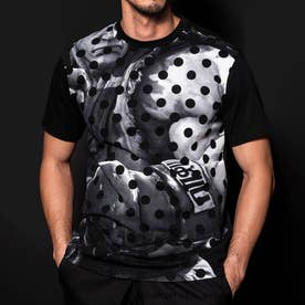 ストリートファイターコラボ Tシャツ(リュウ) M (ブラック)