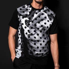 ストリートファイターコラボ Tシャツ(ガイル) M (ブラック)