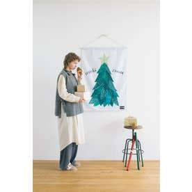 kippisクリスマスツリータペストリー (ホワイト)