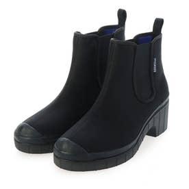 サイドゴアレインショートブーツ (ブラック)