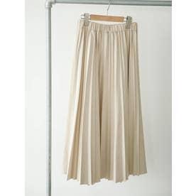 ■変形アコーディオンプリーツスカート (アイボリー)