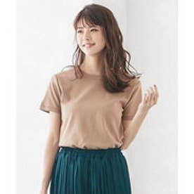 シンプルTシャツ [C3909] (モカ)