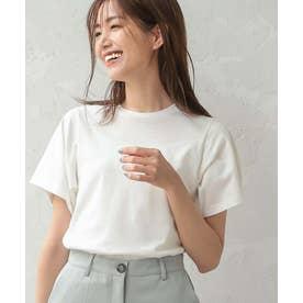 [S/M]綿100%ベーシックTシャツ [C5525] (オフホワイト)