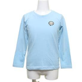 コエパッチ付長袖Tシャツ (ライトブルー)