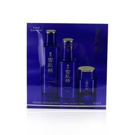 セット&コフレ 雪肌精 エクセレント キット I: ローション エクセレント 200ml + 乳液 エクセレント 140ml + クリーム エクセレント 50g