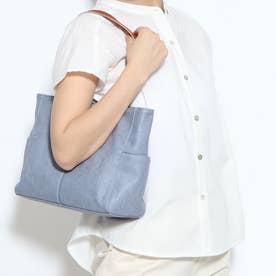 Bag in Bag仕様3wayトートバック(ブルーグレー)