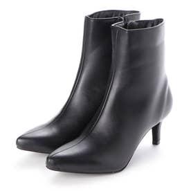 SFW ポインテッドトゥ6cmピンヒール美脚ブーツ/9015 (ブラックピーユー)