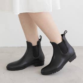 【レイン対応】RainyDay サイドゴアショートブーツ(R9006) (ブラックZ)