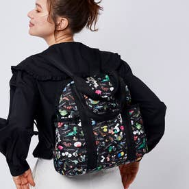DOUBLE TROUBLE BACKPACK (レオ・レオニ ブラック)