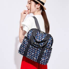 DOUBLE TROUBLE BACKPACK (ピーナッツジオメトリック)