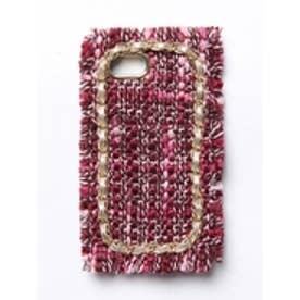 ツイードiPhoneケース【6・6s・7対応】 ピンク