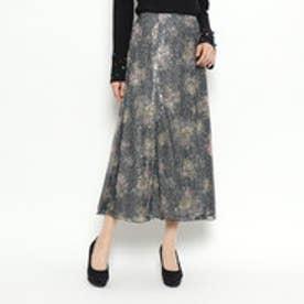 スパンコールマーメイドスカート (ブラック)