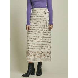 ラメJQラップスカート (OWHT)