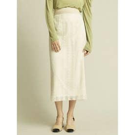 エコペットレースタイトスカート (OWHT)