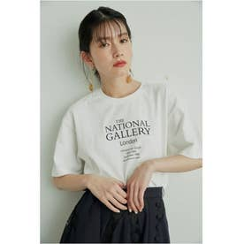 【The National Gallery, London】ロゴTシャツ (WHT)
