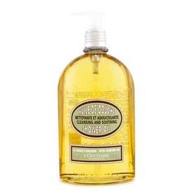 シャワーオイル 500ml アーモンドクレンジング&スージングシャワーオイル