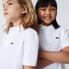 Boys ポロシャツ (半袖) (ホワイト)