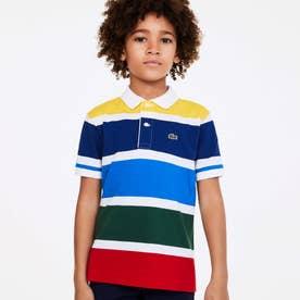 BOYSマルチカラーボーダーポロシャツ (マルチ)