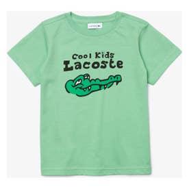 BOYSクールキッズワニロゴTシャツ (ライトグリーン)